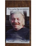 """Obrázok zosnulého: """"Marián Šebora, 1958 - 2015"""""""