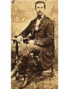 """Obrázok zosnulého: """"Rafael  Gajdošík, 1823 - 1890"""""""
